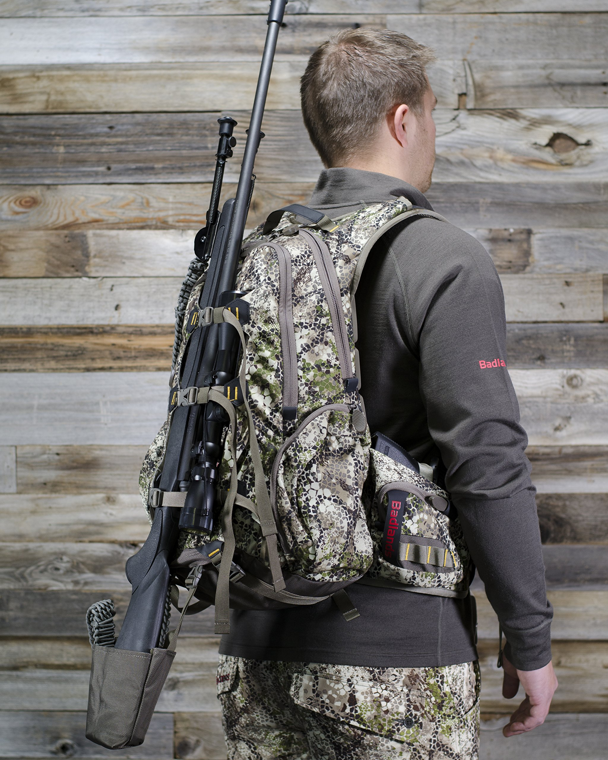 Badlands Superday Camouflage Hunting Backpack - Bow, Rifle, and Pistol Compatible, Approach Camo by Badlands (Image #8)