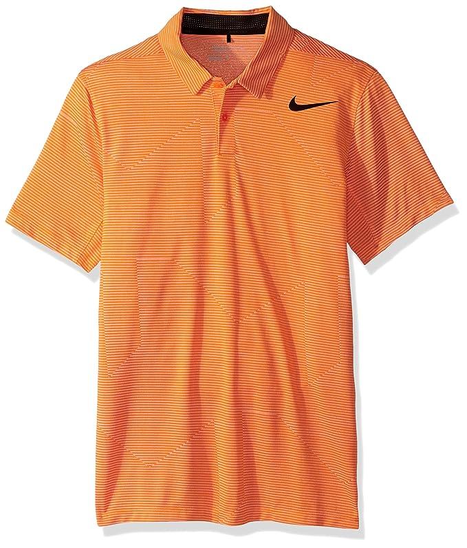 Nike 2016 Movilidad Fade Stripe Logo en el Pecho Golf - Polo para ...