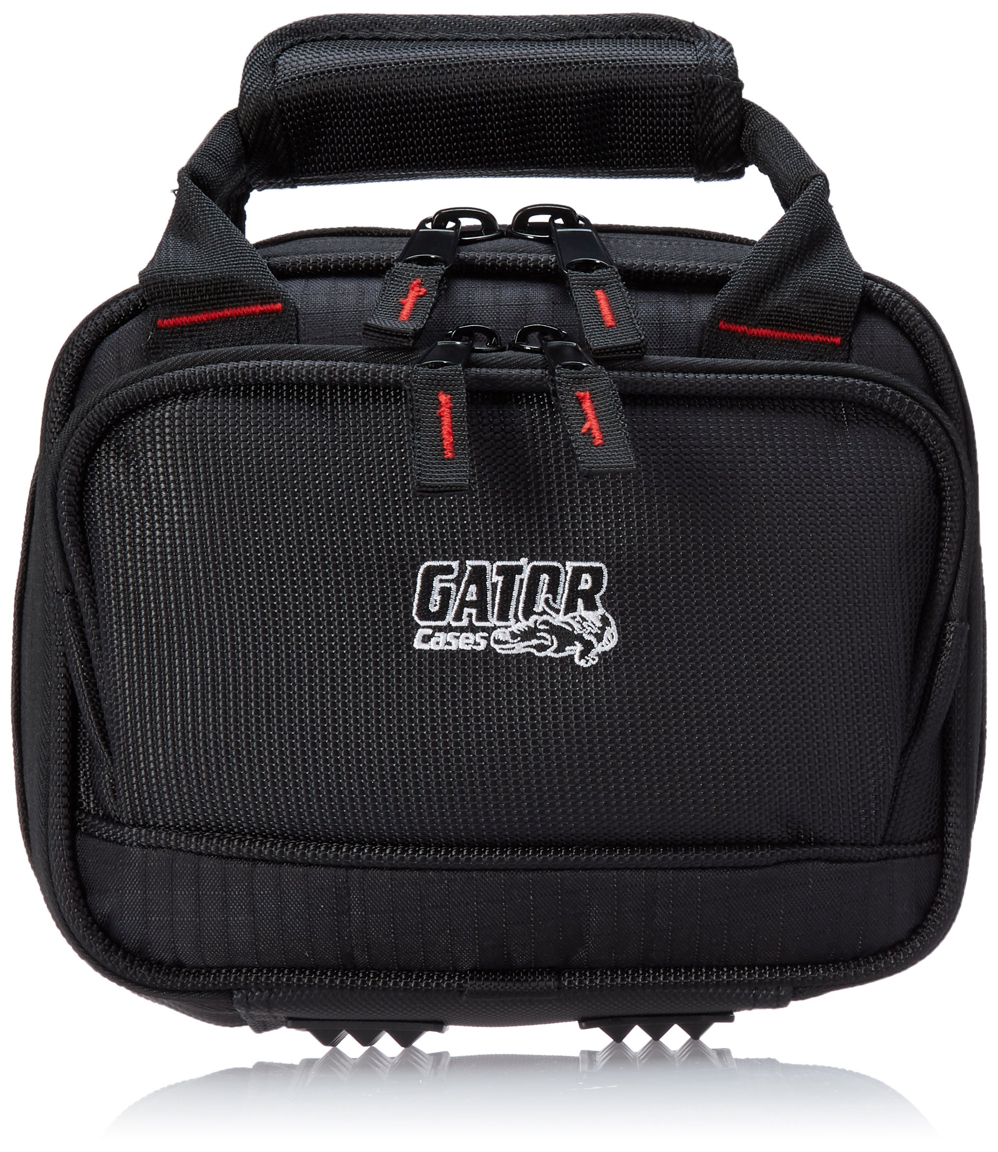 Gator Cases Padded Nylon Mixer/Gear Carry Bag with Removable Strap; 8.25'' x 6.25'' x 2.75'' (G-MIXERBAG-0608) by Gator