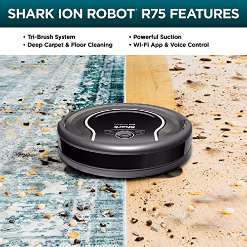 Shark ion robot vacuum r75 reviews