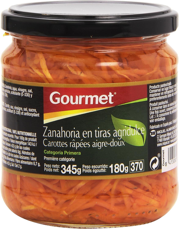 Gourmet Zanahoria en tiras agridulce - 180 g: Amazon.es: Alimentación y bebidas