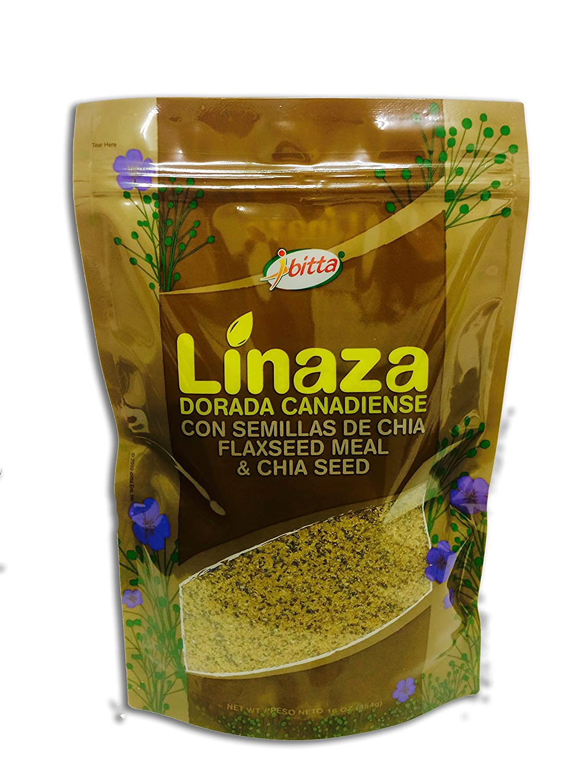 Ibitta Flax Chia Blend - High Omega Oil Fiber Seed 16 Ounces