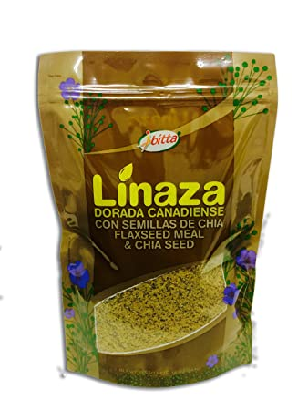 Ibitta Flax Chia Blend - High Omega Oil Fiber Seed 16 Ounces