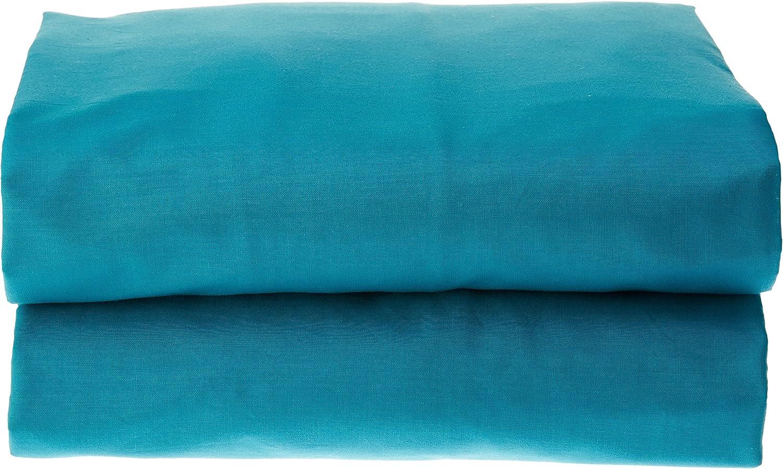 Lovely Casa D24820001 Alicia Drap Plat Coton Blanc 300 x 240 cm