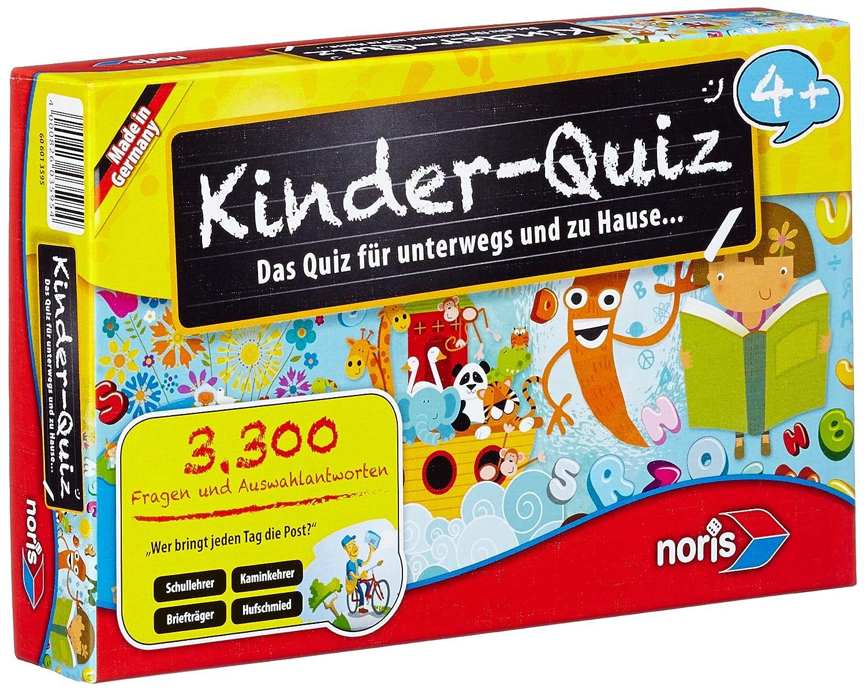 Noris Spiele 606013595 - Kinder Quiz 4+ , Kinderspiel B0000TZ47A - u. Taktikspiele Non Books Kinder Lernspiele / Quiz