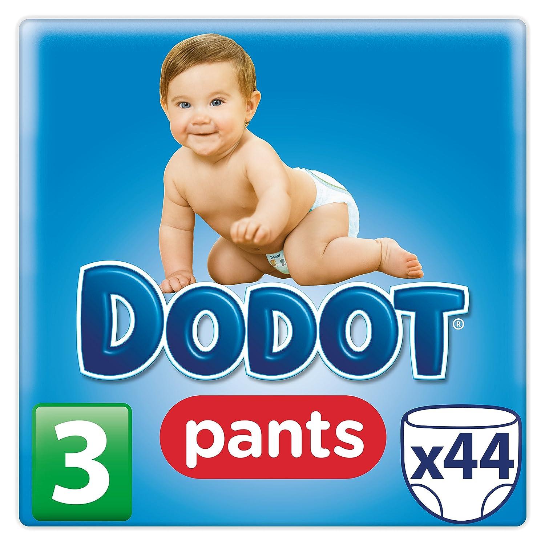 Dodot Pants Pañales, Talla 3, 6 (11) kg - 44 Pañales: Amazon.es: Amazon Pantry