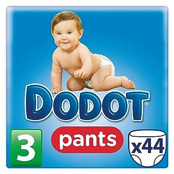 Dodot Pants - Pack de 44 pañales talla 3, 6-11 kg: Amazon.es: Salud y cuidado personal