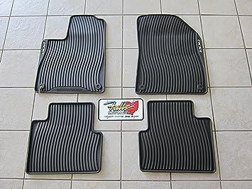 Amazon Com Chrysler 200 All Weather Black Rubber Slush Floor Mat