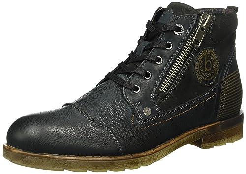Bugatti Men s K303113 Ankle Boots, Black (Schwarz 100), 10 UK ... f30e0a37ba
