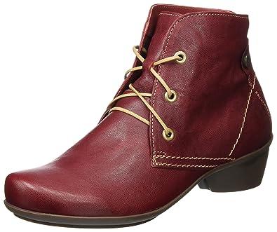 Think Damen SAMMAS_181092 Desert Boots, Rot (Rosso/Kombi 72), 36 EU