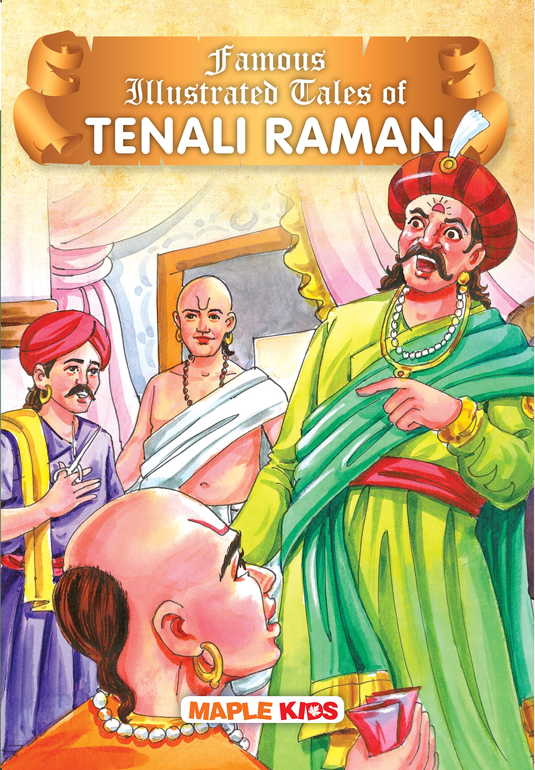 Buy Tenali Raman Illustrated Book Online At Low Prices In India