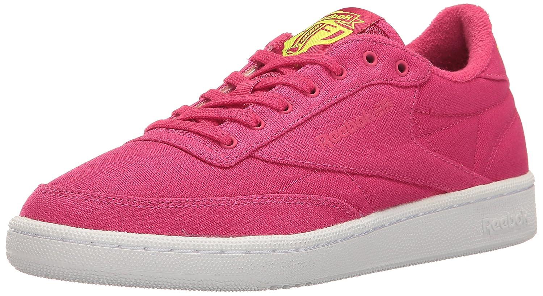 ReebokCLUB C 85 EH-W - Club C 85 EH Damen Pink Craze/Solar Yellow/Weiß