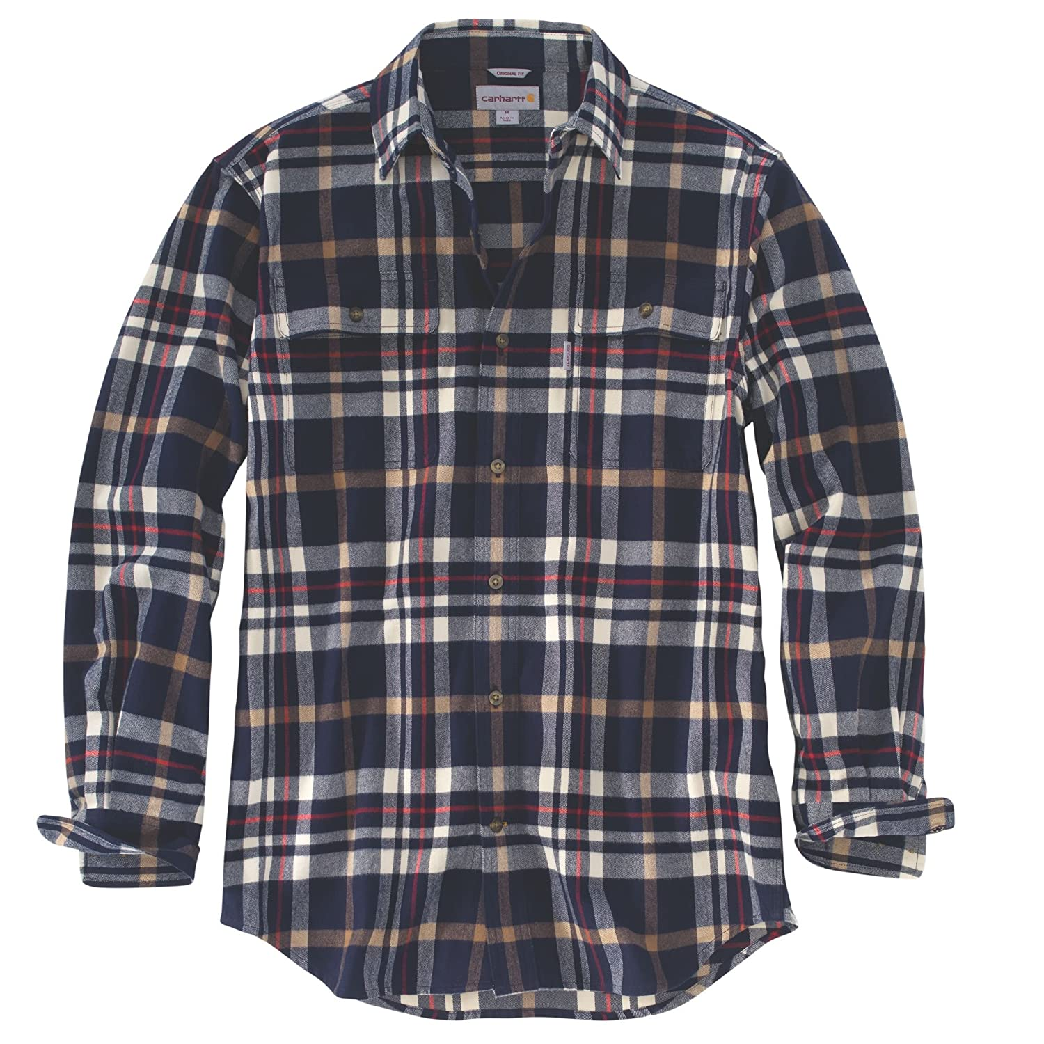 Carhartt Men's 102216 Hubbard Classic Plaid Shirt