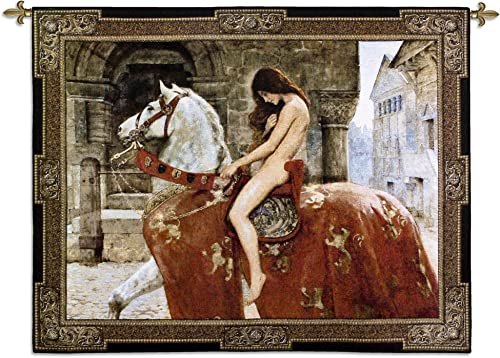 Pure Country Lady Godiva Wall Tapestry – 53W x 43H in.