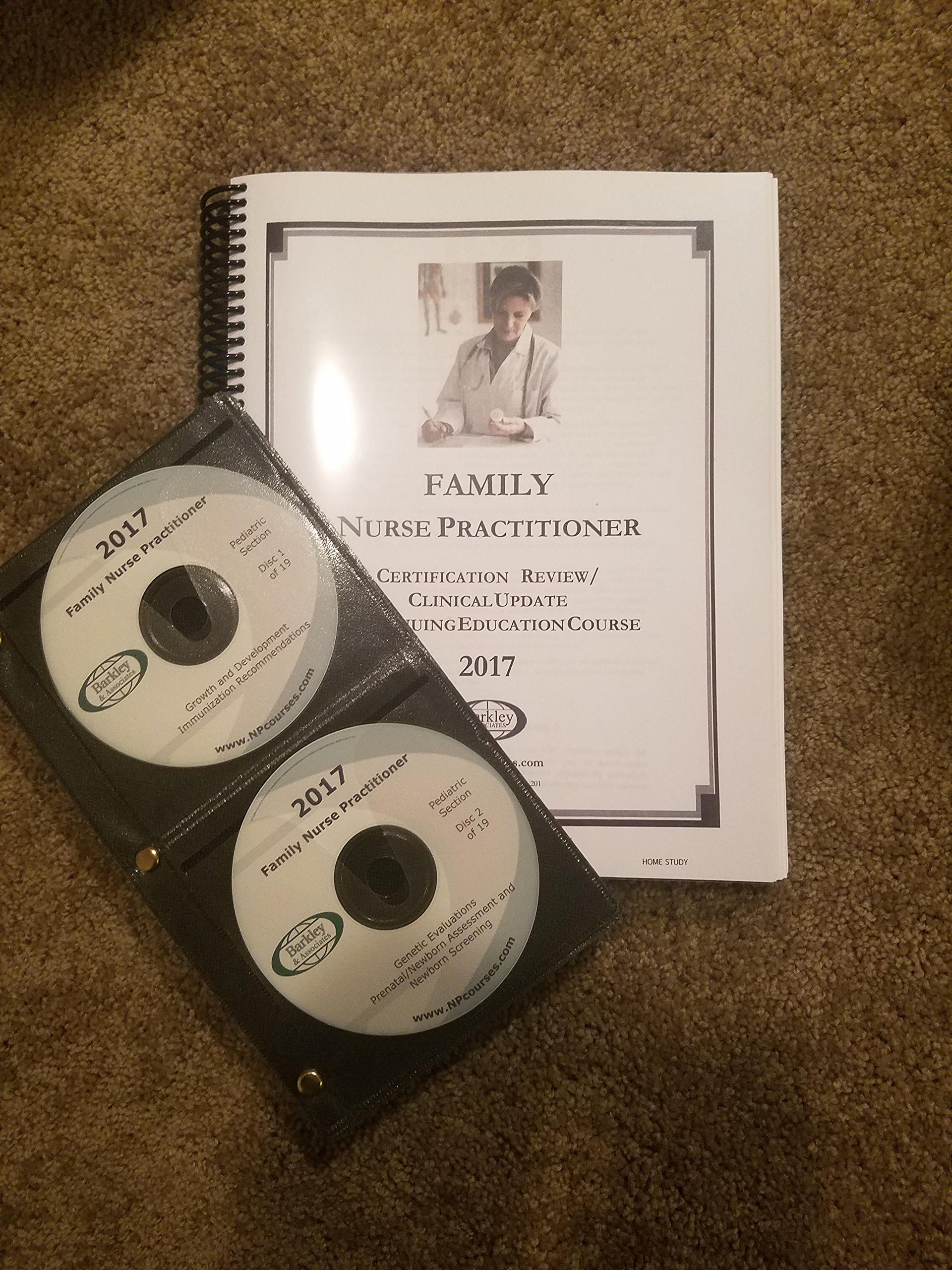 2017 Barkley Family Nurse Practitioner Review Book Cds Audio Cd