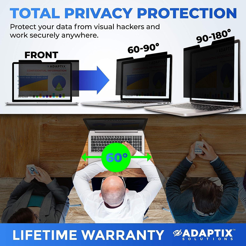 Adaptix MacBook Compatible AMSMR15 Blue Light Screen Filter Protector Blocks 96/% UV Anti-Scratch Late 2012-2015 Anti-Glare 15 Magnetic Privacy Screen for MacBook Pro