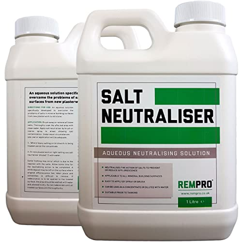 Rempro 1Ltr Salt Neutraliser Anti-sulphate Tanking & Surface Treatment for Masonry, Stone, Brick, Plaster