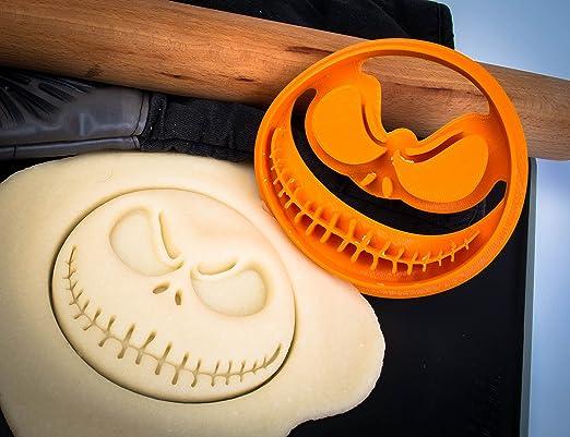 Pesadilla antes de Navidad - Jack Skellington cortador de galletas: Amazon.es: Hogar