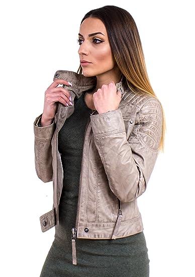 new styles 56010 41177 Lederjacke Scarlett - Damen Scarlett Echtes Leder im ...