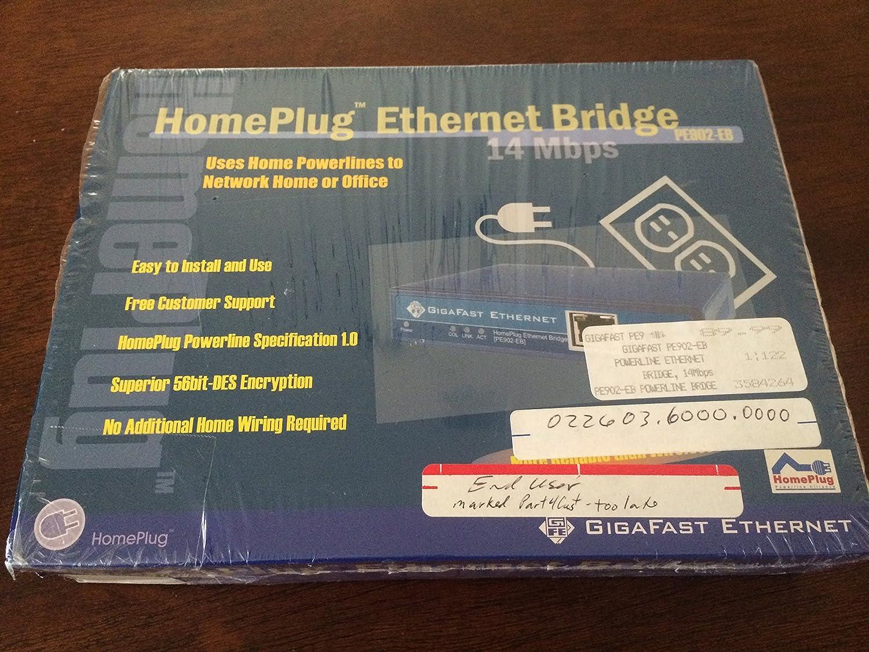 14 Mbps Homeplug Ethernet Bridge Pe902 Ebx Electronics Home Plug Wiring