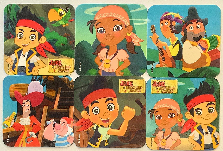 Jake and The Never Land Pirates Refrigerator Magnets 6 Disney Junior Fridge Set