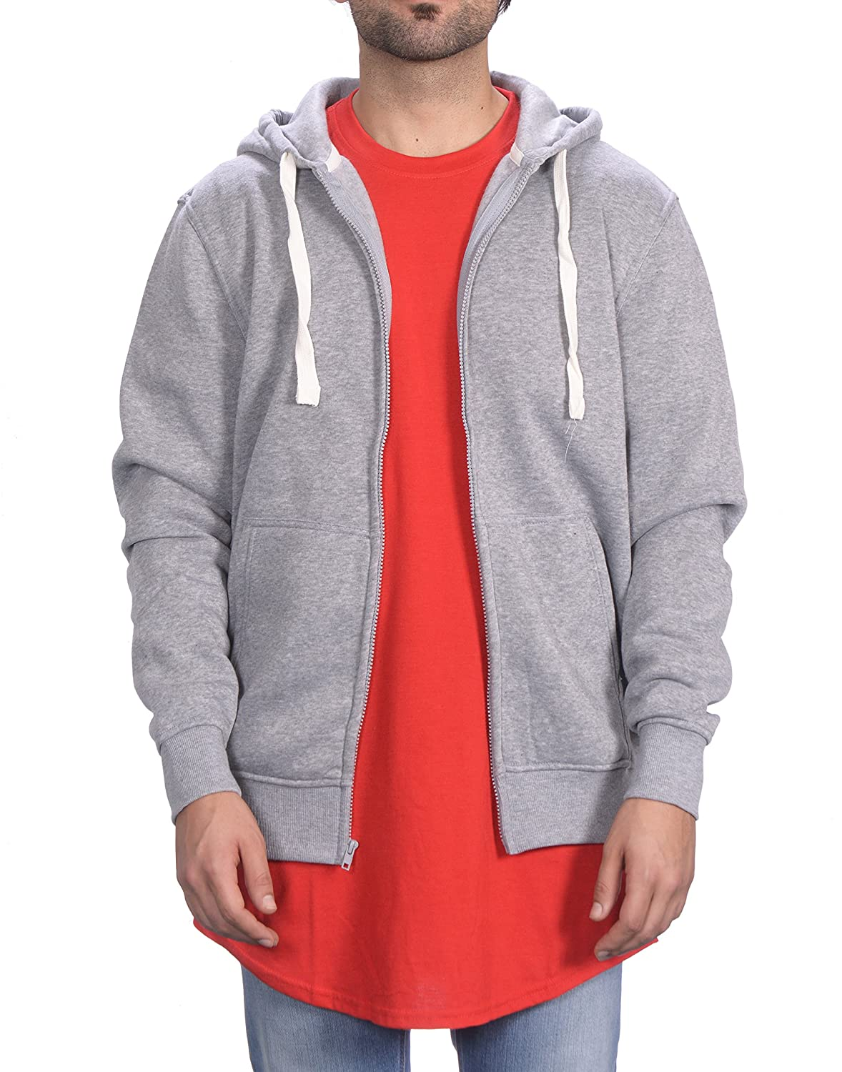 Cloak and Dagger Men's Basic Full Zip Hoodie