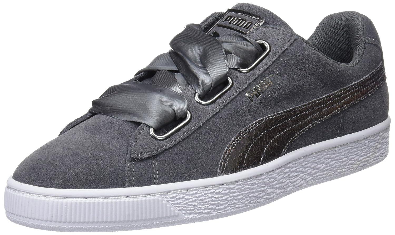 Femme Basses Suede Lunalux Puma Sneakers Wn's Heart QxBEroCWde