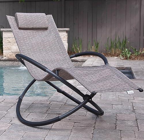Vivere ORBL1-SA Outdoor Rocking Chair