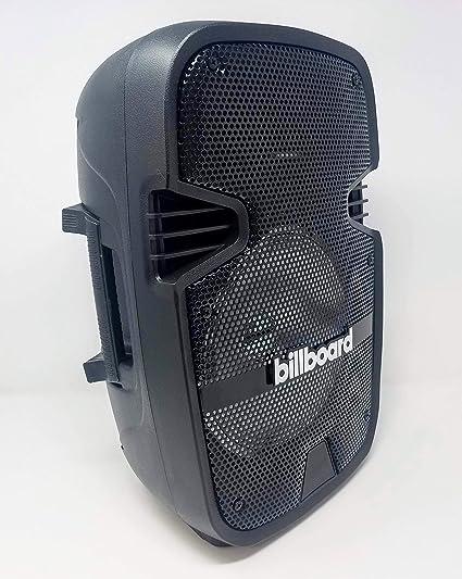 Billboard Indoor/Outdoor Bluetooth Wireless Party Speaker with LED, Black