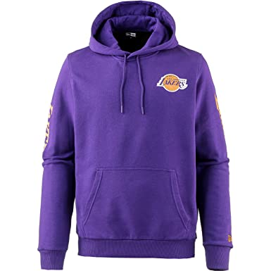 A NEW ERA Era NBA Los Angeles Lakers Sleeve Wordmark Sudadera Capucha Hombre Morado L (