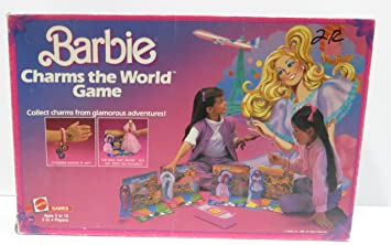 Amazon 1985 Barbie Charms The World Board Game Toys Games