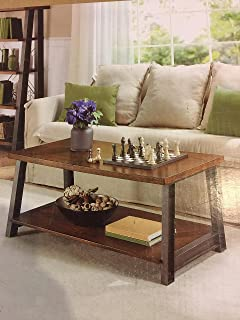 Better Homes And Gardens Mercer Coffee Table, Vintage Oak