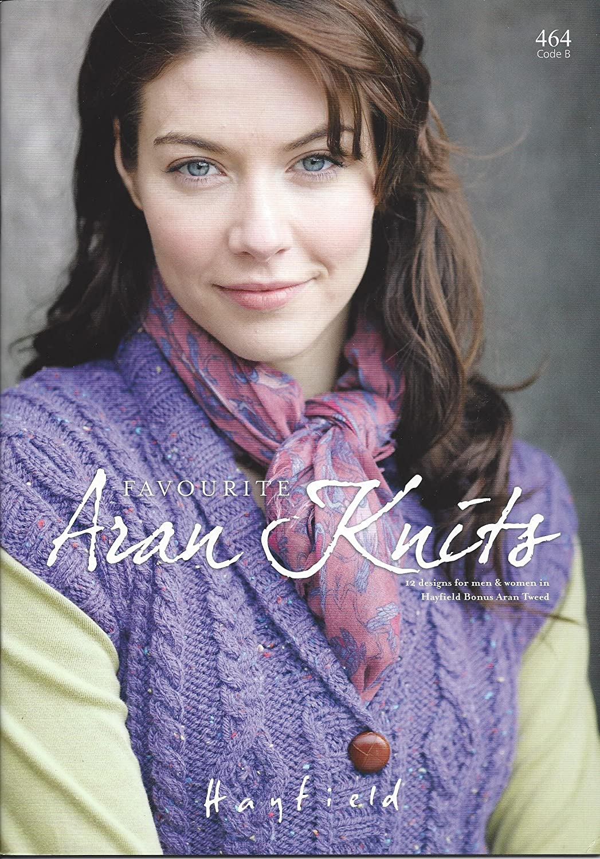 Sirdar/Hayfield Knitting Pattern Book 464 - Favourite Aran Knits ...