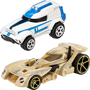 Hot Wheels - Pack Coches Star Wars 501st Clone (Mattel CGX07): Amazon.es: Juguetes y juegos