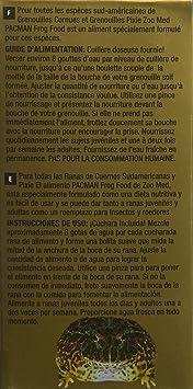 Zoomed Pacman Comida para Rana 56,7 g: Amazon.es: Productos para mascotas
