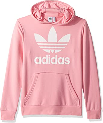 prefacio Vatio Al borde  Amazon.co.jp: Adidas Originals Sweater Boys - light pink/white: Clothing &  Accessories