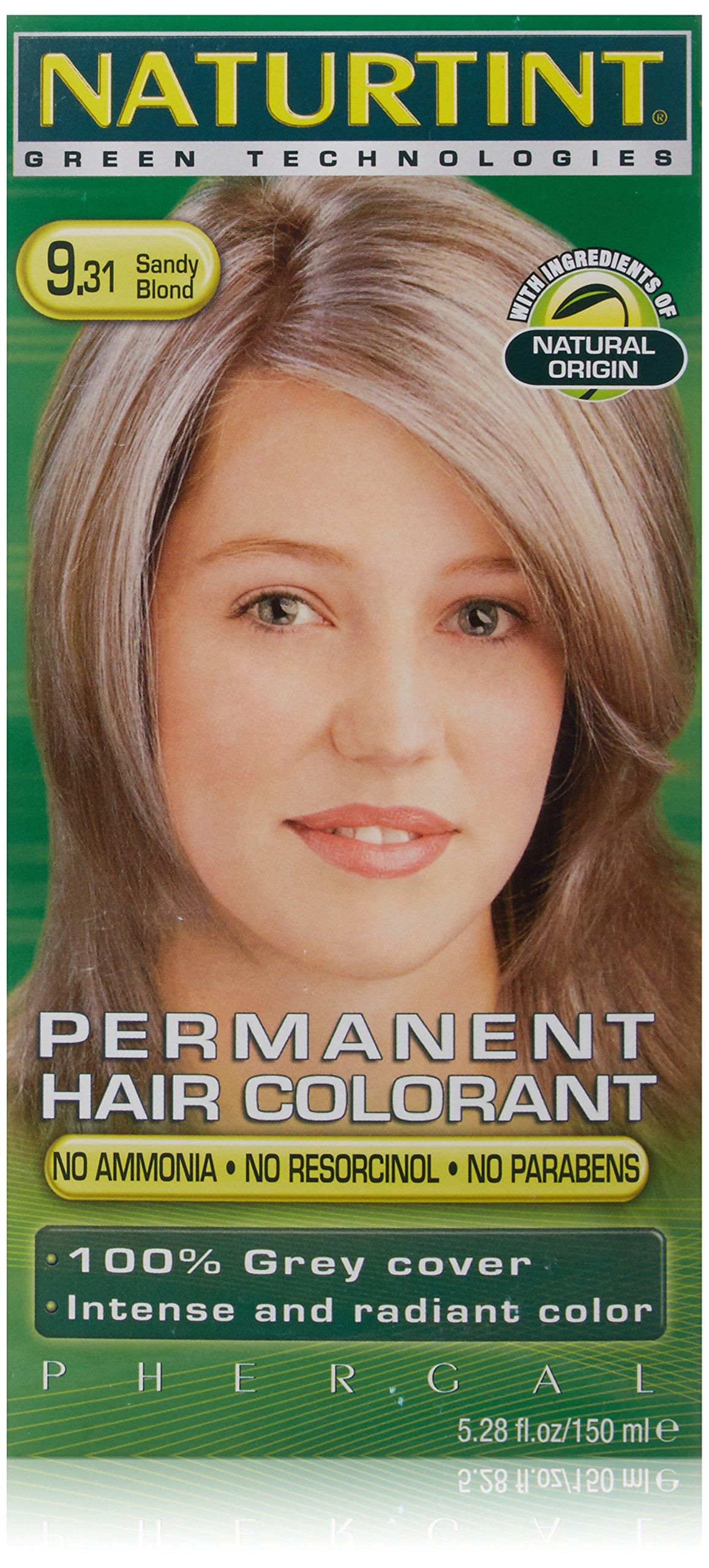 Amazon.com : Naturtint Permanent Hair Color - 9.31 Sandy Blonde ...