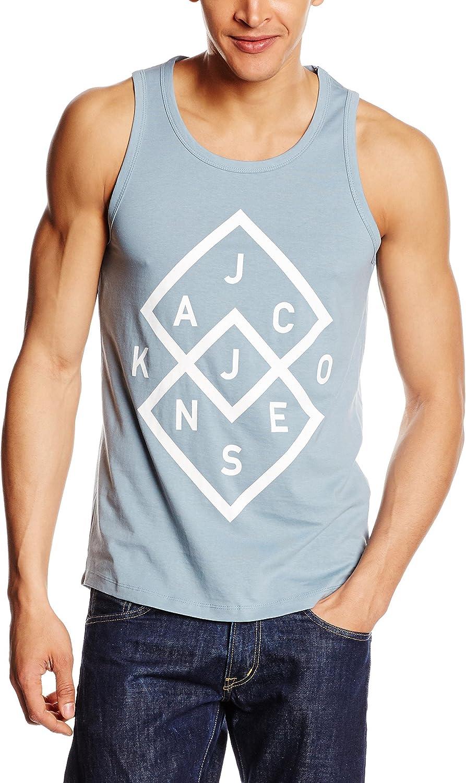 JACK & JONES - Camiseta - Sin mangas - para hombre Blau - Blue (Citadel) X-Large: Amazon.es: Ropa y accesorios