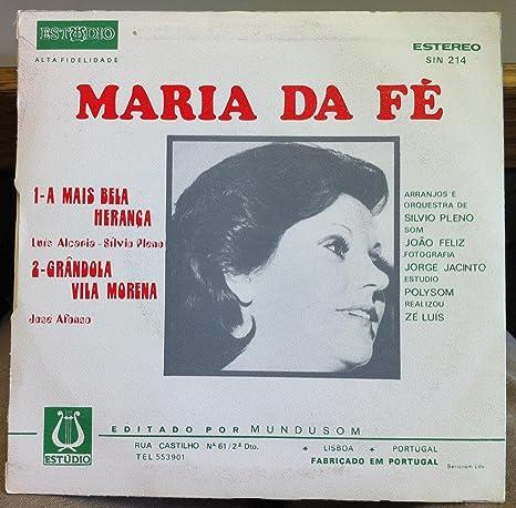 Maria De Fe Maria De Fe A Mais Bela Heranga 45 Rpm Single Amazon