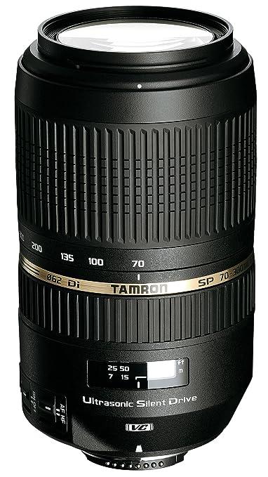 951 opinioni per Tamron A005E Obiettivo per Canon, SP AF 70- 300 mm, F/4-5.6 Di VC USD, Nero