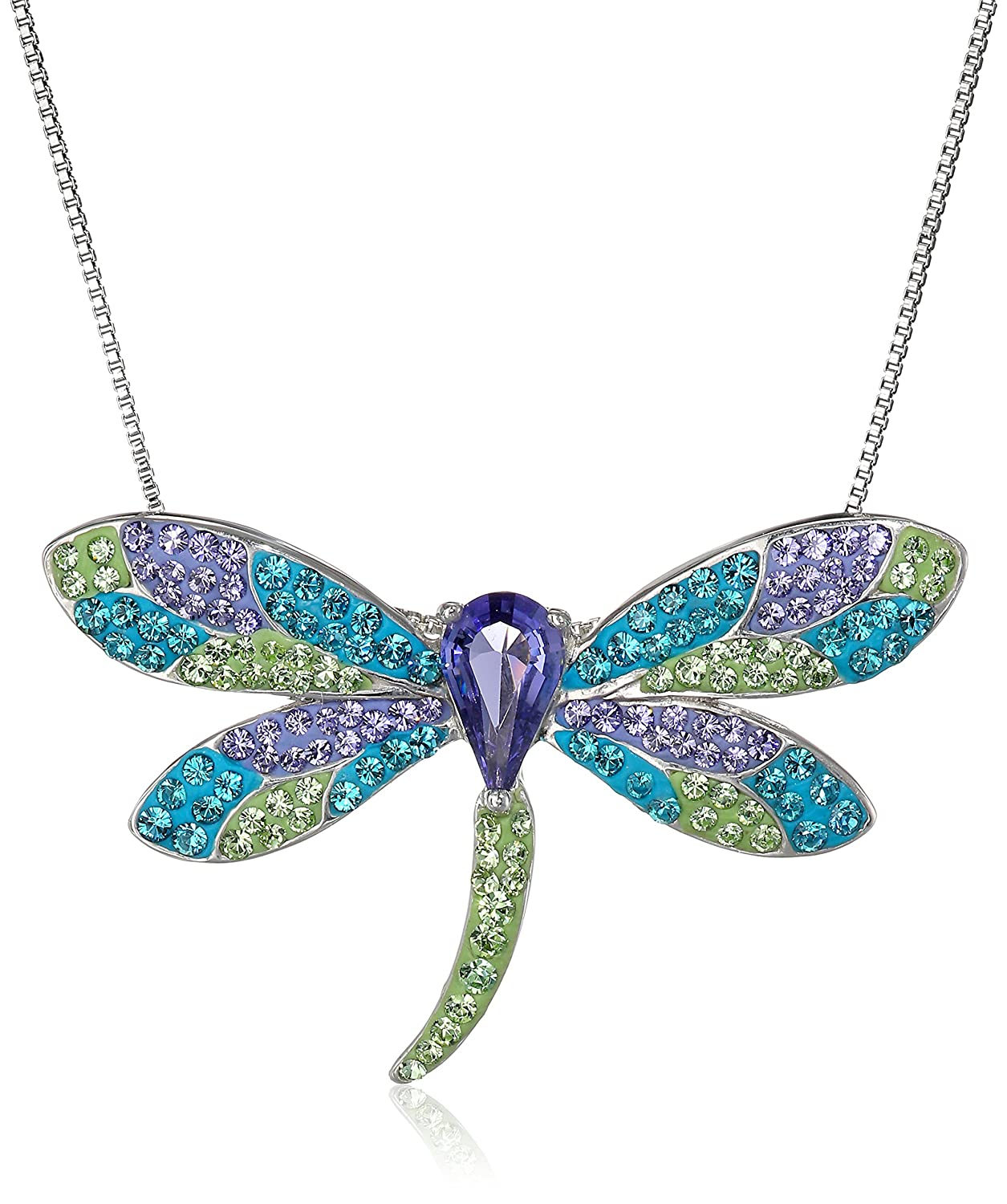 product gold metallic lyst dragonfly jewelry normal de in necklace uno pendant gallery