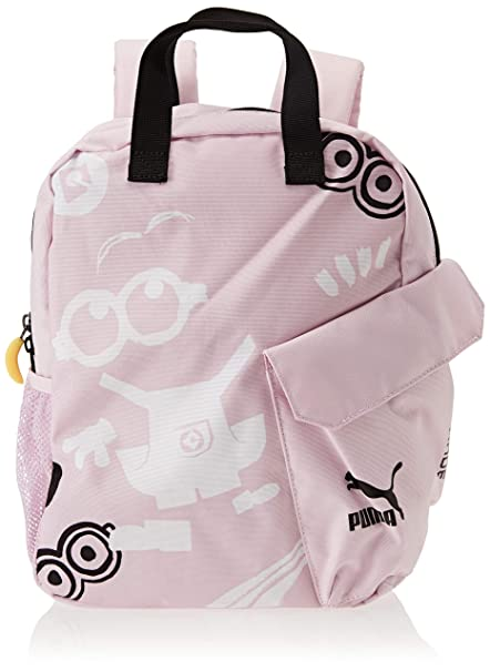Puma Minions, Backpack Unisex Niños, 75455, Winsome Orchid, OSFA