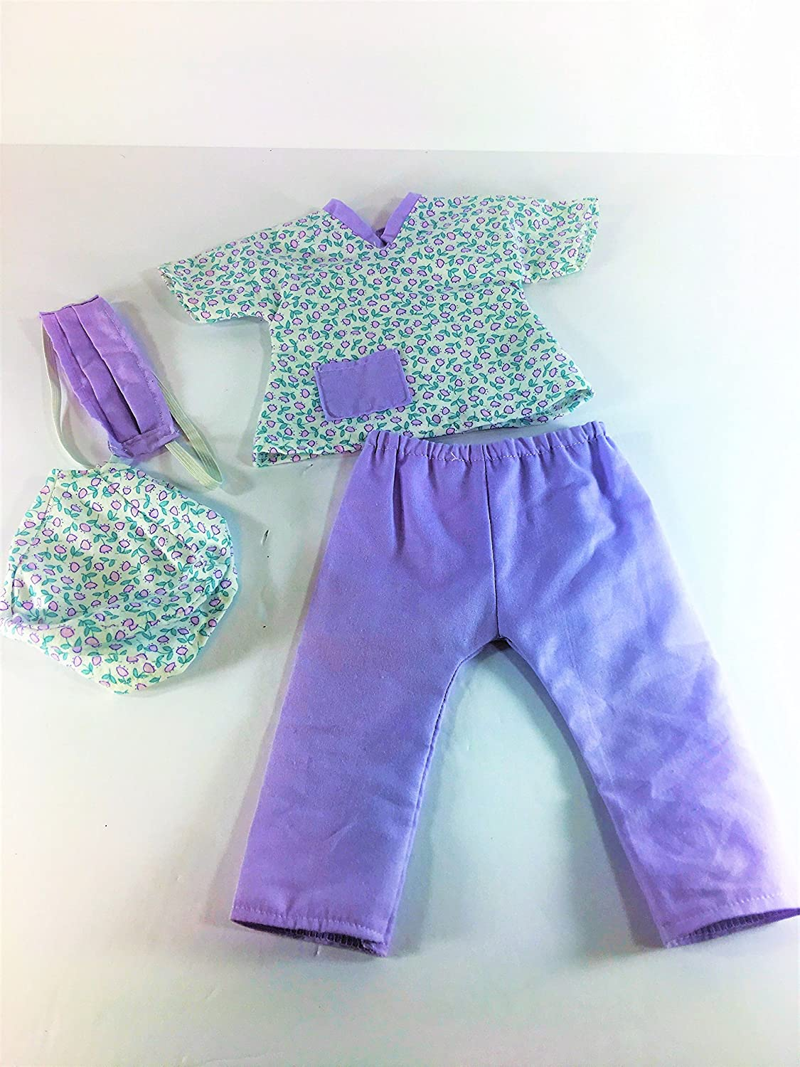 18 doll 4pc Nurse outfit