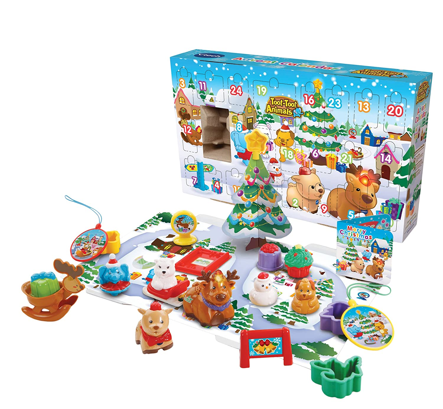 VTech Toot-Toot Animals Advent Calendar (Dispatched From UK) 192903