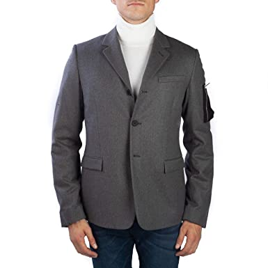 344d26a5f6 Dior Homme Men's Soft Virgin Wool Cashmere Padded Sportscoat Jacket ...