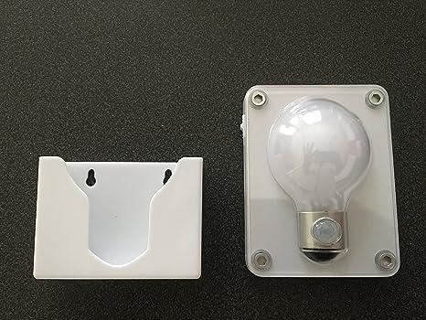 Speciale wc illuminazione per la notte lampada a led sensore di