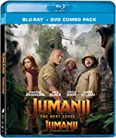 Jumanji: The Next Level Bilingual [Blu-ray + DVD + Digital] (Bilingual)