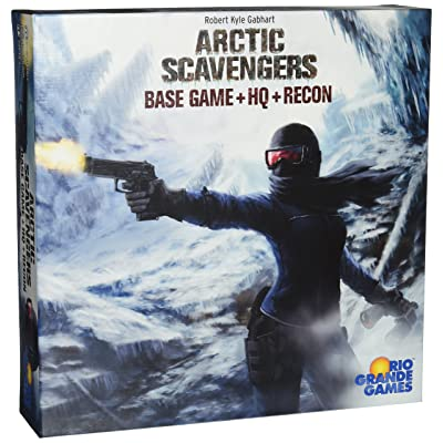 Arctic Scavengers with Recon Expansion Board Game: Toys & Games
