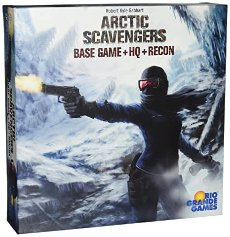 Amazon.com  Arctic Scavengers with Recon Expansion Board Game  Toys ... 12d0875ee30ac