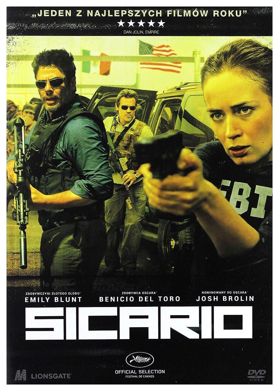 Sicario [DVD] (English audio): Amazon co uk: Emily Blunt